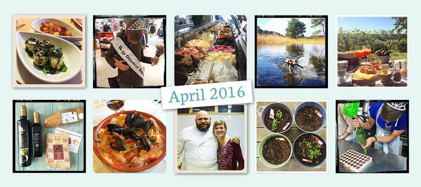 De maand van leukerecepten – april 2016