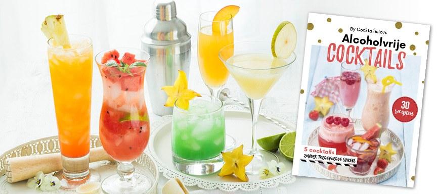 De lekkerste alcoholvrije cocktails in een boek