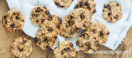 Gezonde en snelle chocolate chip cookies