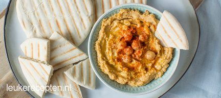 DIY hummus maken + video