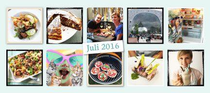 De maand van leukerecepten - juli 2016