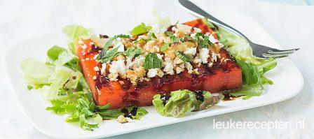 Watermeloen steak