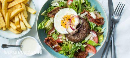 Hamburger salade