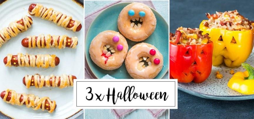 Griezelige recepten voor Halloween