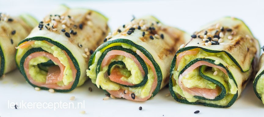 Oosterse courgetterolletjes