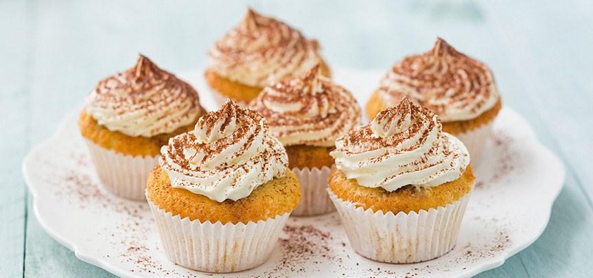 Heerlijke tiramisu cupcakes