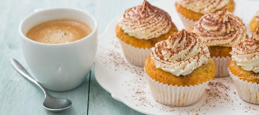 Heerlijke tiramisu cupcakes + Senseo Switch