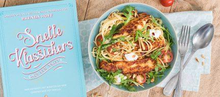 Review Snelle klassiekers met een twist + pasta pollo alla parmigiana