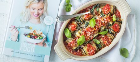 Review Feel Good Food + recept aubergine cannelloni
