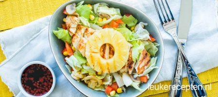 Kip hawaï salade