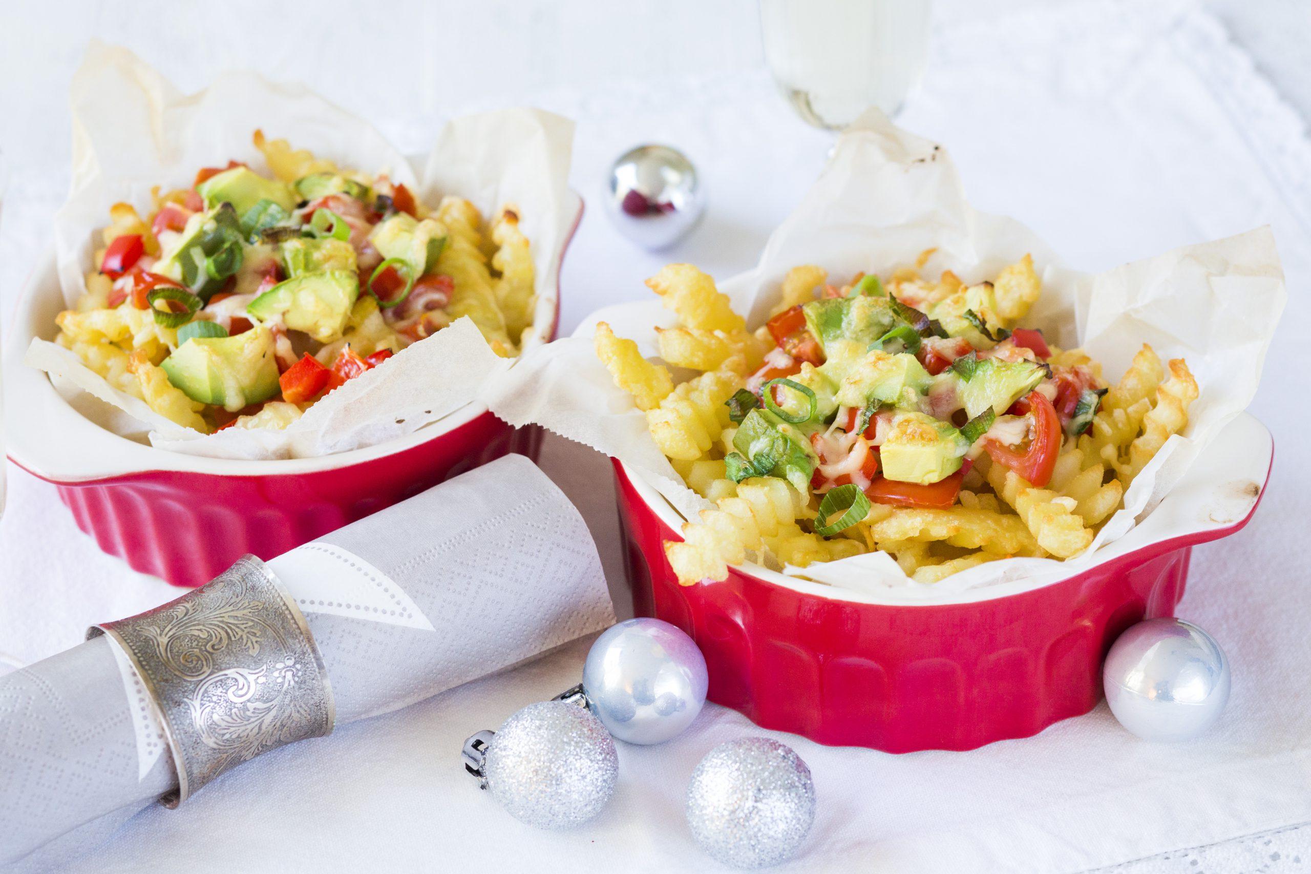 gegratineerde kerst frietjes