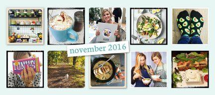De maand van LeukeRecepten - november 2016