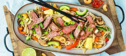 Heerlijke Thaise noedels met entrecote + 5 tips