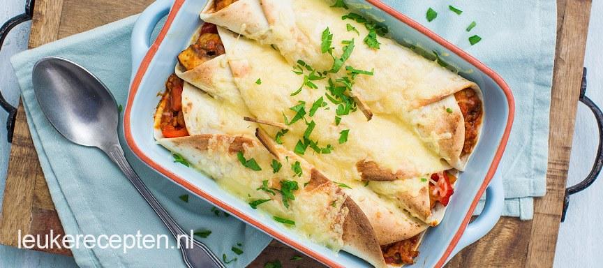 Geliefde Wrap met braadworst uit de oven - Leuke recepten @PE02