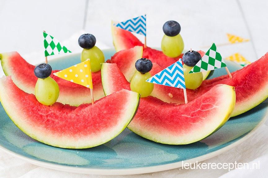 watermeloen-bootjes