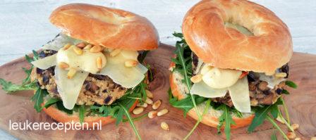 Champignon burgers