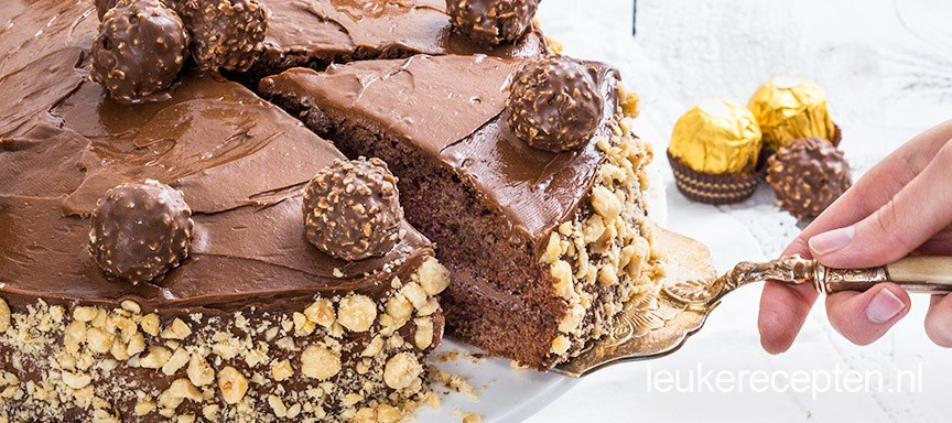 Ferrero-rocher-taart