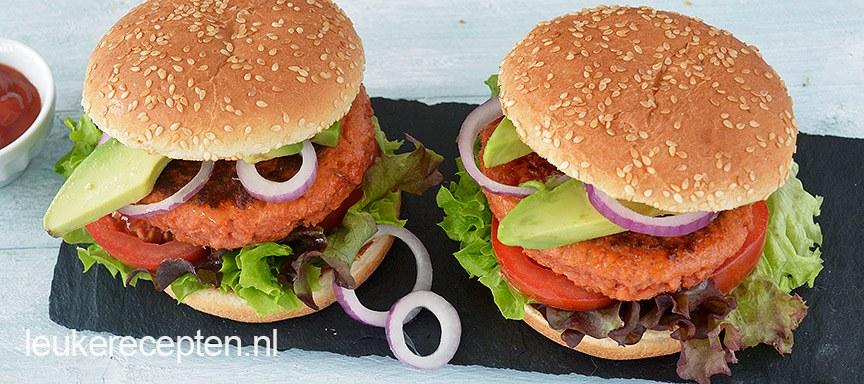Vegetarisch gehakt burger