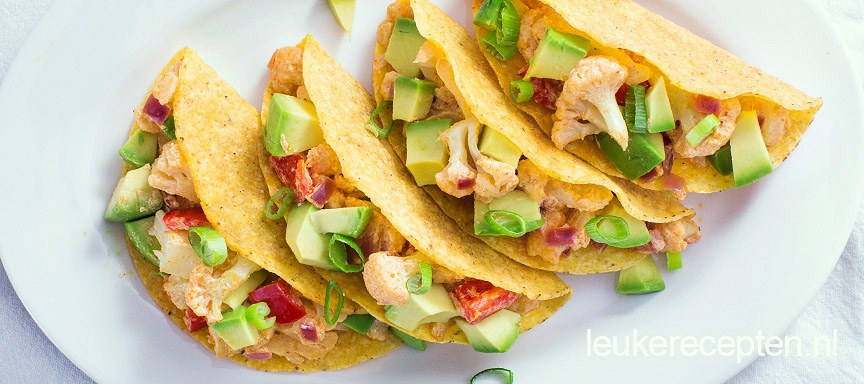 Taco's met bloemkool