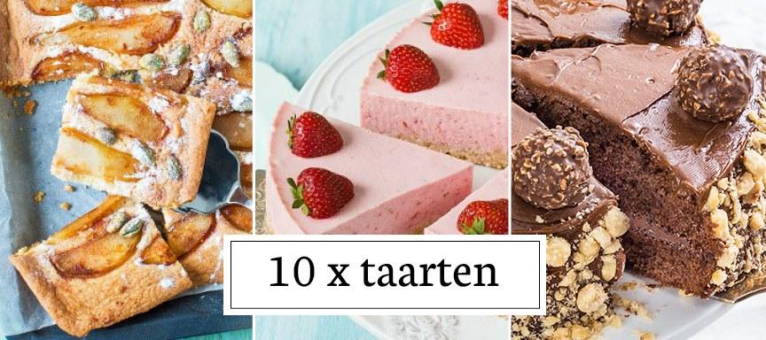 10 x de leukste taarten
