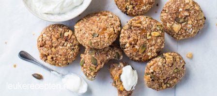 Ontbijtkoekjes met abrikoos