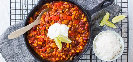 Budget recept: chili sin carne