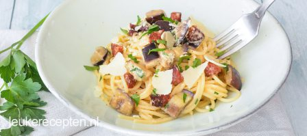 Pasta Carbonara met Chorizo