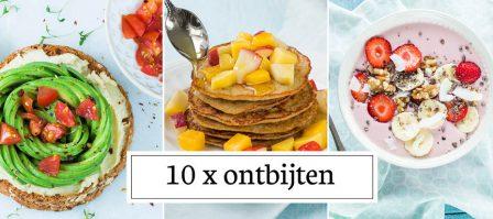 10 x ontbijtrecepten