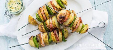 Aardappelspies van de BBQ