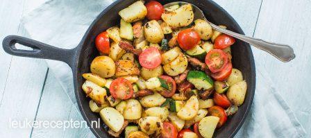 Aardappelpannetje met tijm