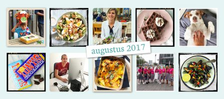 De maand van LeukeRecepten - augustus 2017