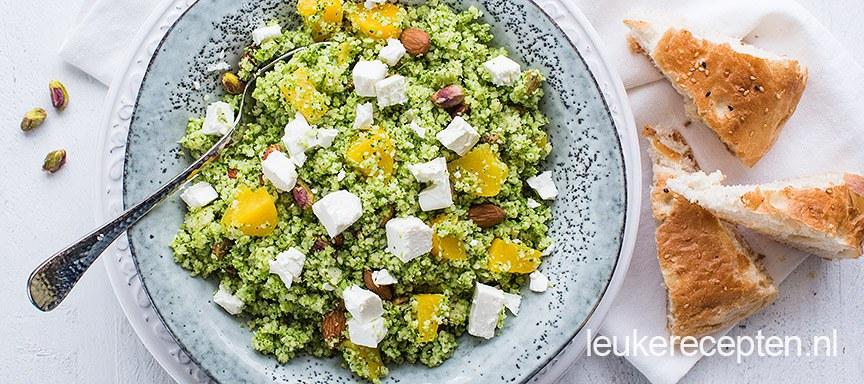 Couscous met broccoli
