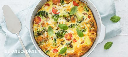 Frittata met broccoli