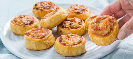 Pizzarolletjes met tonijn + winnaar Princes challenge