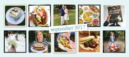 De maand van LeukeRecepten - september 2017
