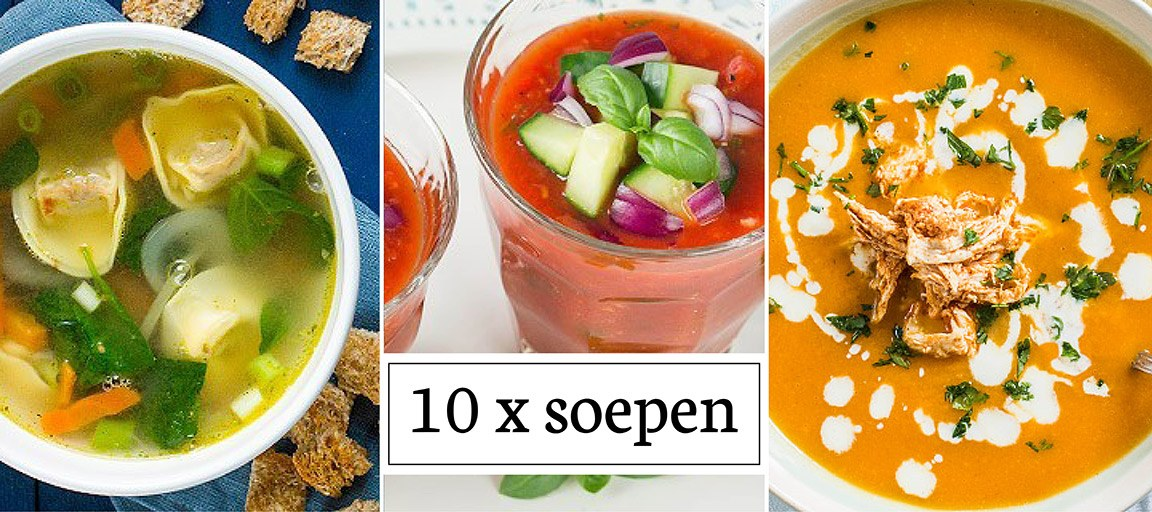 10 x soepen