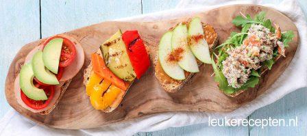 7 x gezond broodbeleg
