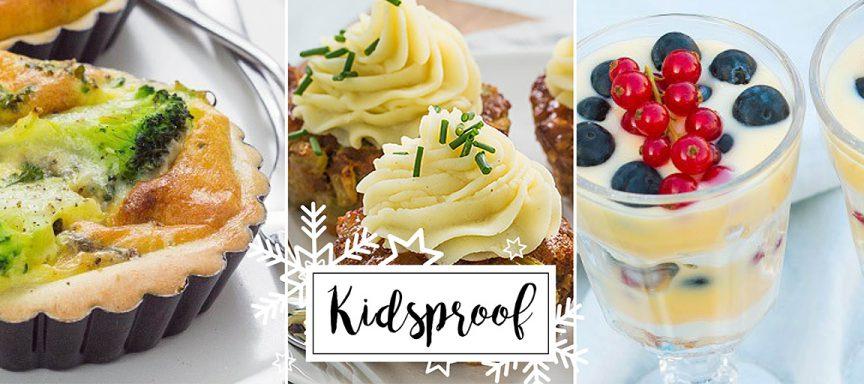 Kerstmenu #2: kidsproof kerstrecepten
