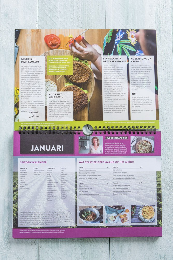 kalender-francesca www.leukerecepten.nl