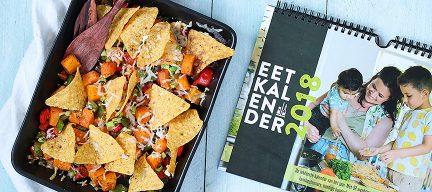 Review Francesca Kookt Eetkalender + recept nacho schotel met pompoen