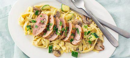 Vlees bereiden: tagliatelle met varkenshaas + tips