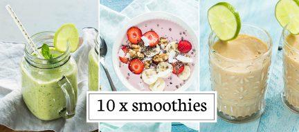 10 x smoothie recepten