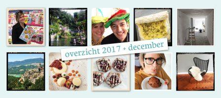 De maand van LeukeRecepten - overzicht 2017 en december