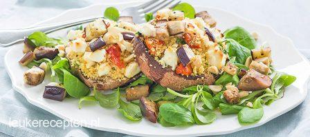 Portobello met couscous