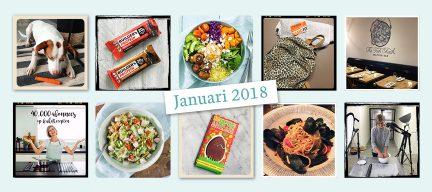 De maand van LeukeRecepten - januari 2018