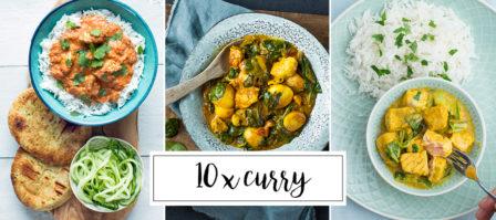 10 x curry recepten