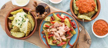 Patatas bravas op 3 verschillende manieren