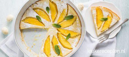 Clafoutis met mango