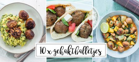 10 x recepten met gehaktballetjes