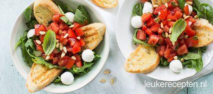 Bruschetta salade